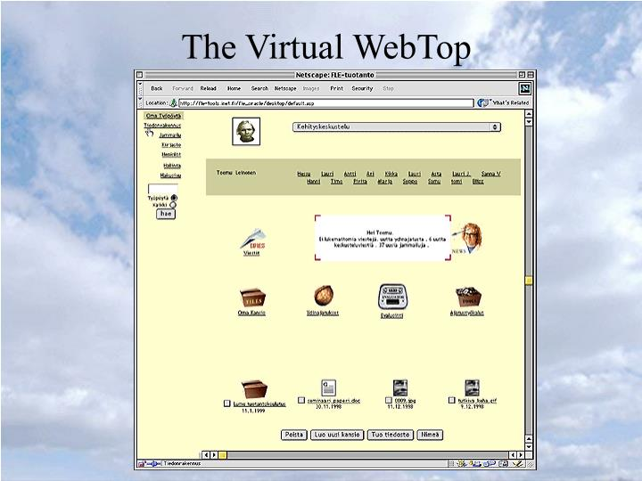 The Virtual WebTop