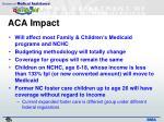 aca impact