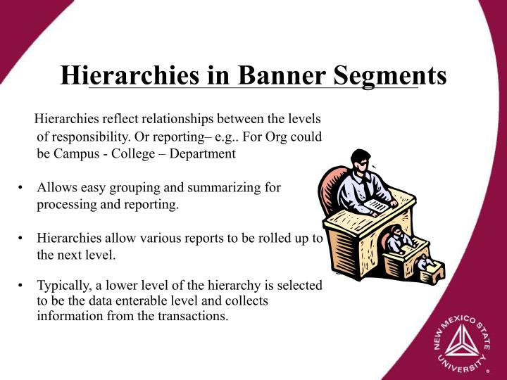 Hierarchies in Banner Segments
