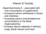 vitamin d toxicity