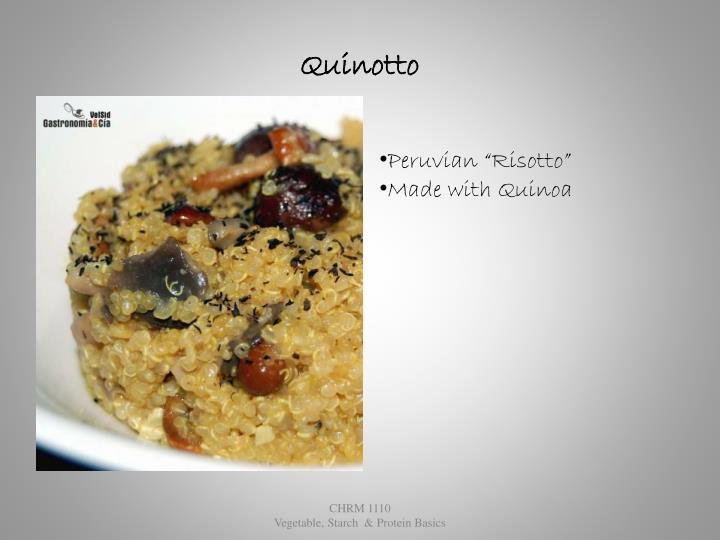 Quinotto