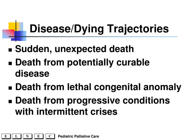 Disease/Dying Trajectories