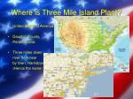 where is three mile island plant