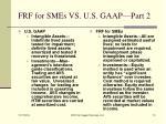 frf for smes vs u s gaap part 2