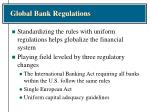 global bank regulations1