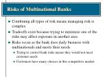 risks of multinational banks6