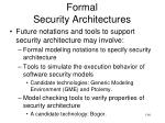 formal security architectures1