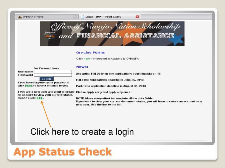 App Status Check