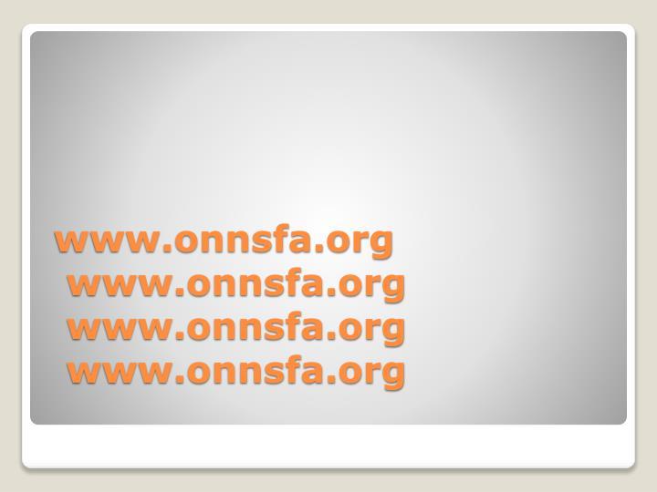 Www onnsfa org www onnsfa org www onnsfa org www onnsfa org