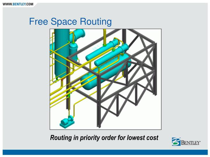 Free Space Routing