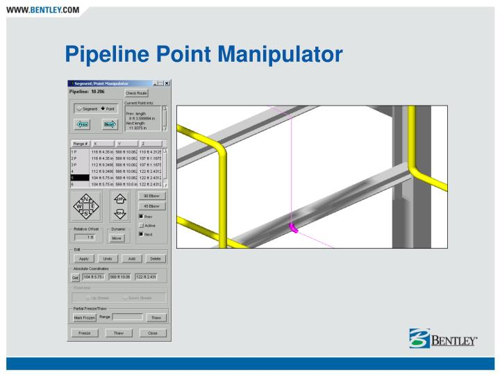 Pipeline Point Manipulator