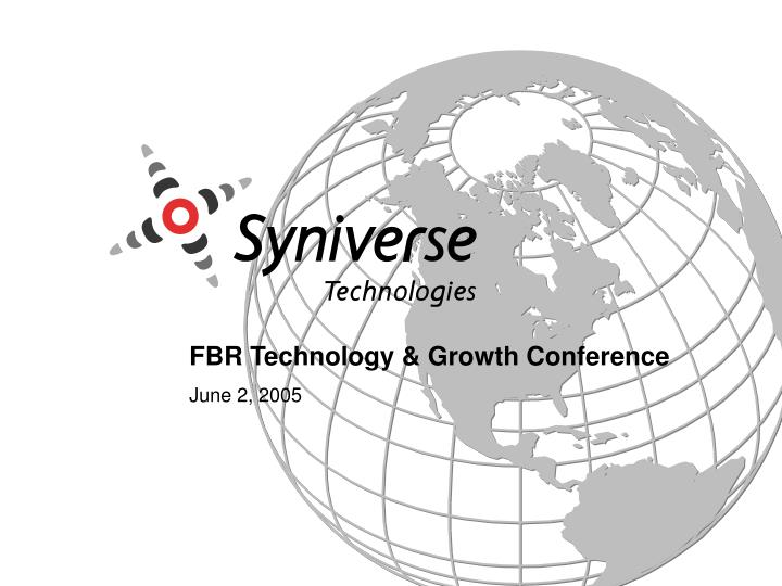FBR Technology & Growth Conference