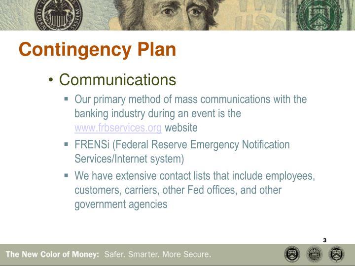 Contingency plan1