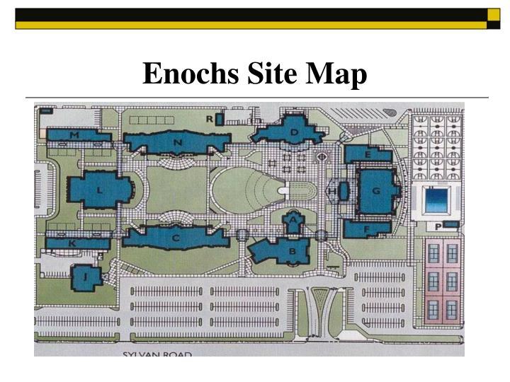 Enochs site map
