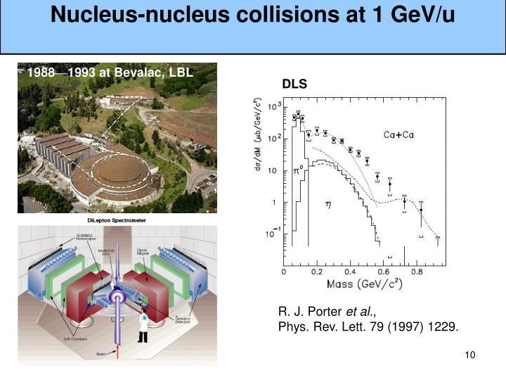 Nucleus-nucleus collisions at
