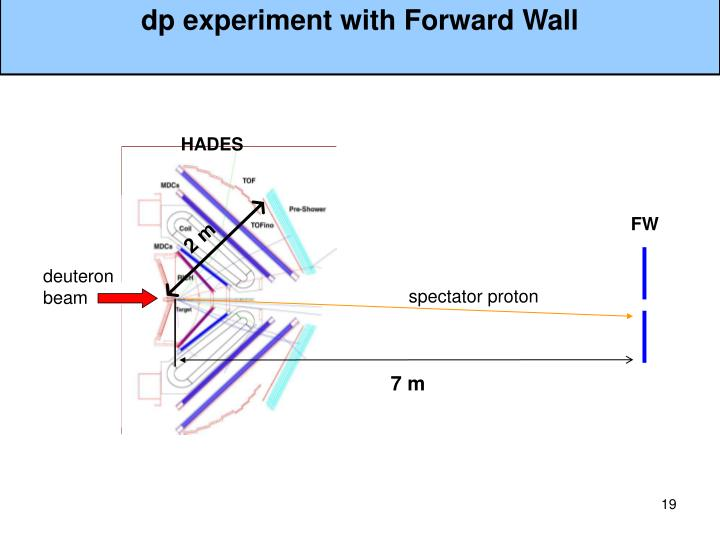 dp experiment with Forward Wall