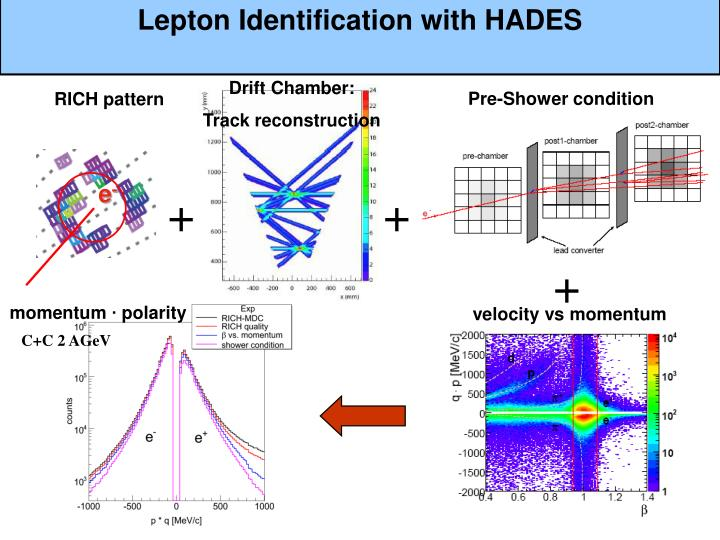 Lepton Identification with HADES