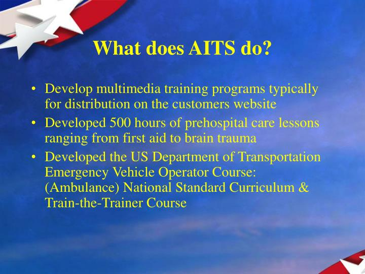 What does aits do