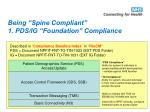 being spine compliant 1 pds ig foundation compliance