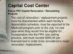 capital cost center future frv capital renovation remodeling projects1