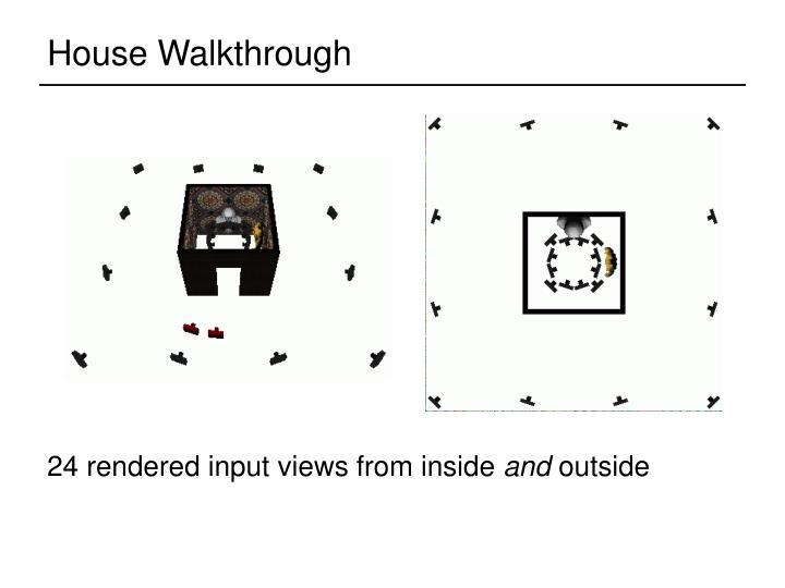 House Walkthrough
