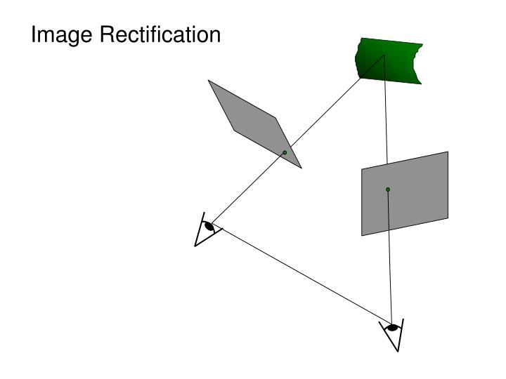 Image rectification
