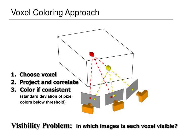 1.  Choose voxel