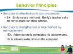 behavior principles2