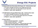 energy eul projects