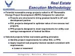 real estate execution methodology