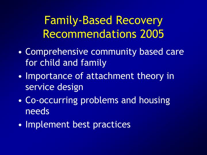 Family-Based Recovery