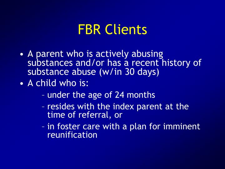FBR Clients