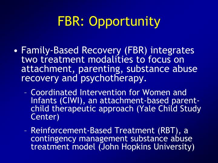 FBR: Opportunity