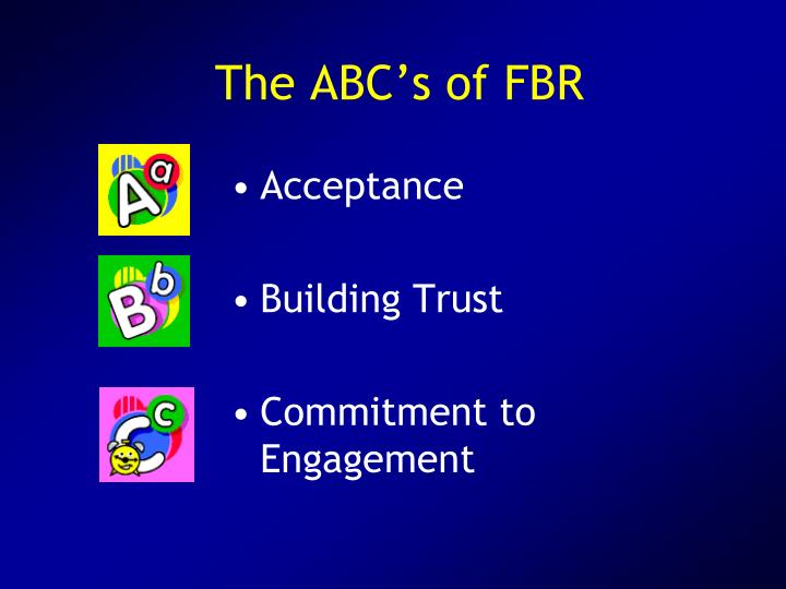 The ABC's of FBR