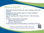 what is pcit