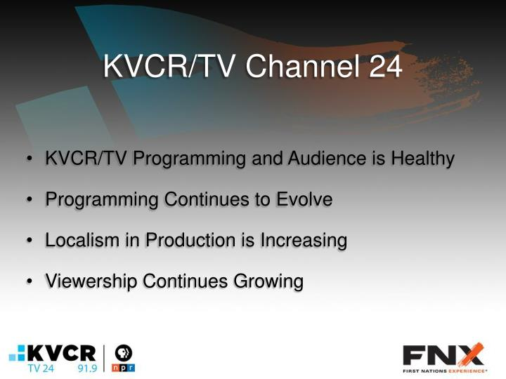 KVCR/TV Channel 24