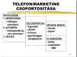 telefon marketing csoportos t sa