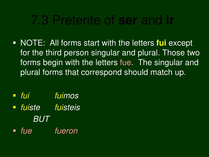 NOTE:  All forms start with the letters