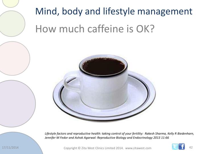 Mind, body and lifestyle management