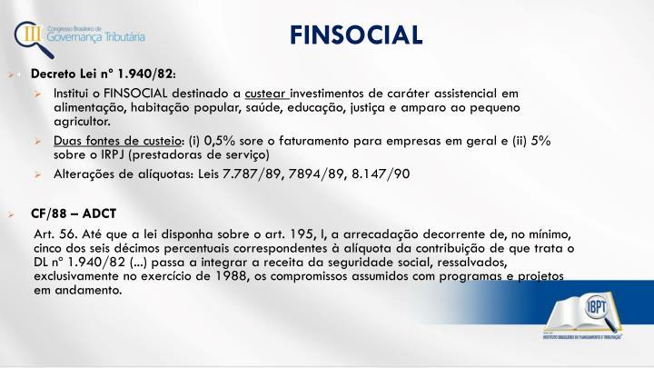 FINSOCIAL