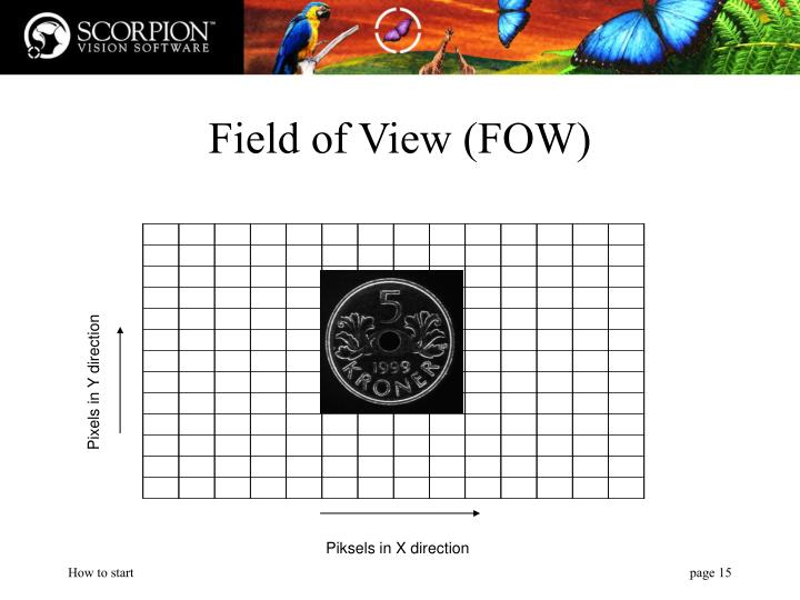 Field of View (FOW)
