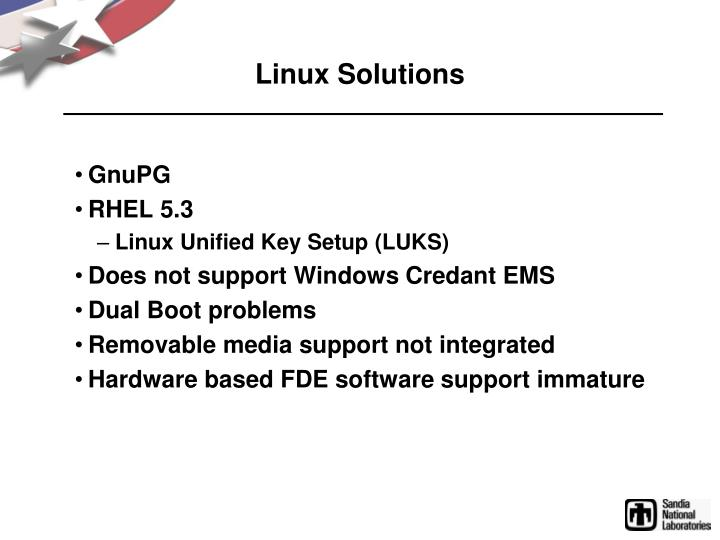 Linux Solutions