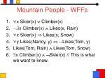 mountain people wffs