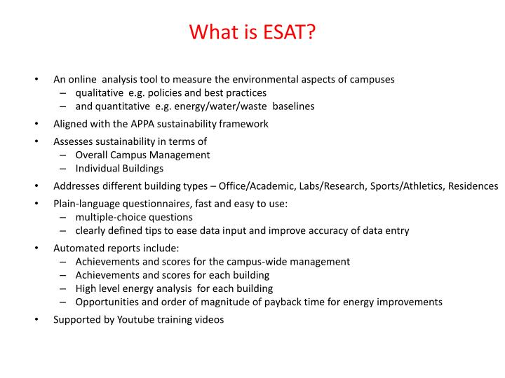 What is esat