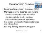 relationship survival