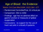 age of blood the evidence7