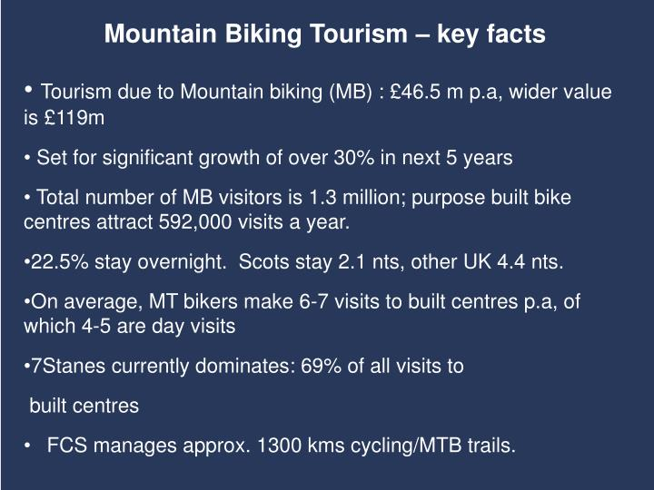 Mountain Biking Tourism – key facts