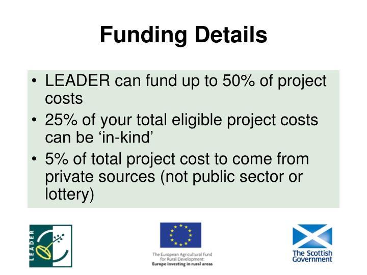 Funding Details