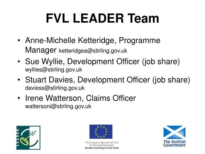 FVL LEADER Team