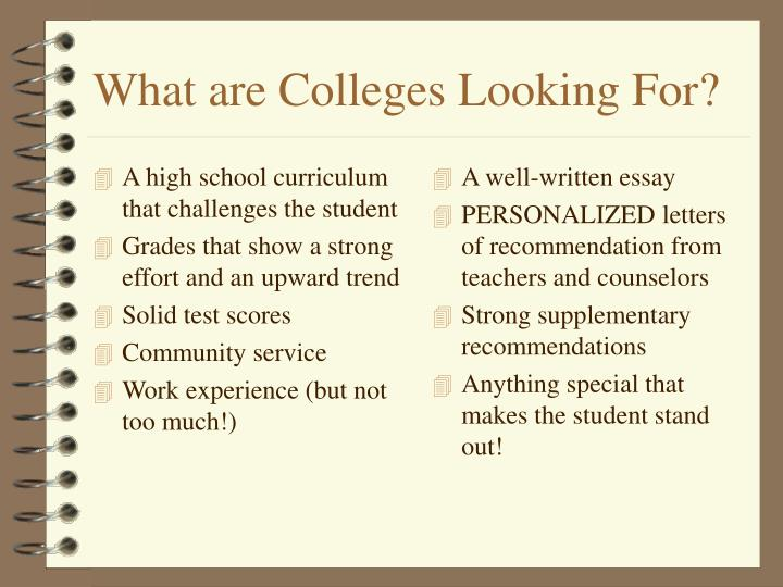 A high school curriculum that challenges the student